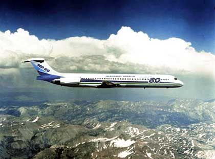 McDonnell Douglas MD 80: Das Unglücksflugzeug war eine Maschine dieses Typs