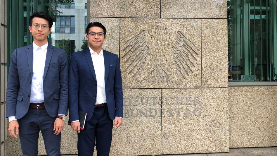 Aktivisten Ray Wong und Alan Li: Flucht nach Deutschland