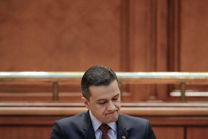 Ex-Premier Sorin Grindeanu