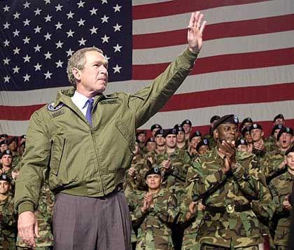 """Bush: """"Waffendeklaration eindeutig unzureichend"""""""