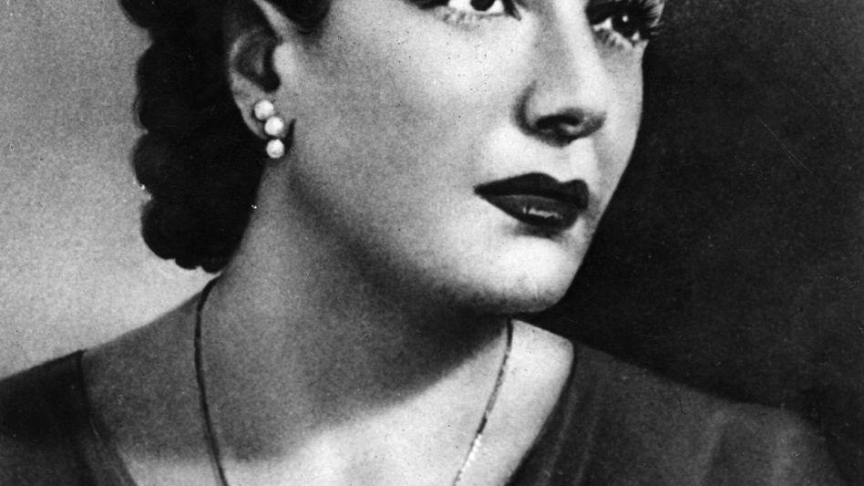 Clara Petacci, mistress of Italian dictator Benito Mussolini.