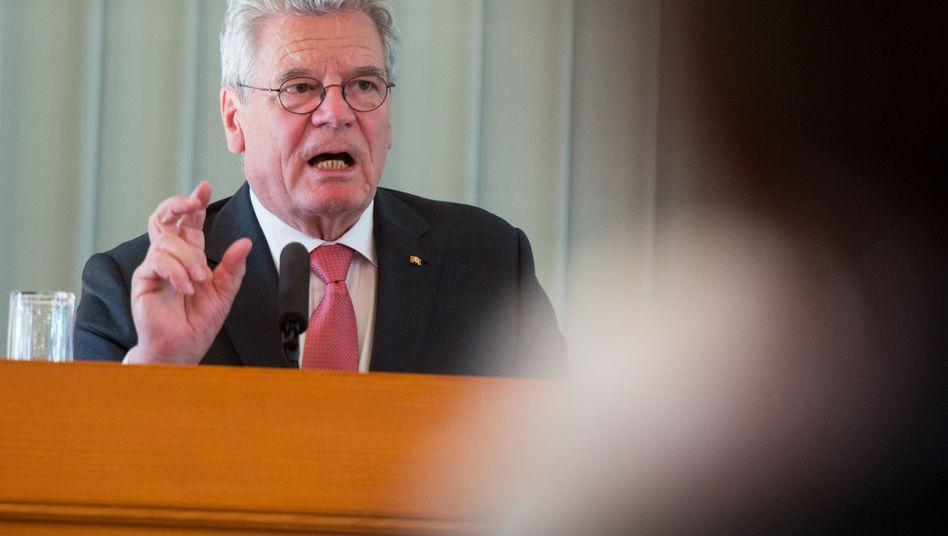 """Gauck in Oslo: """"Auf allen Ebenen ein Ja zu einem aktiven Deutschland"""""""