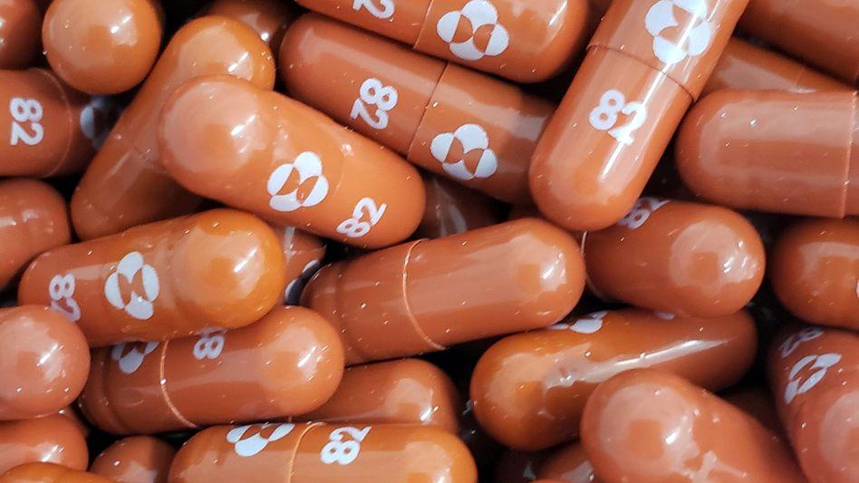 Das Arzneimittel Molnupiravir könnte vor schweren Covid-19-Verläufen schützen