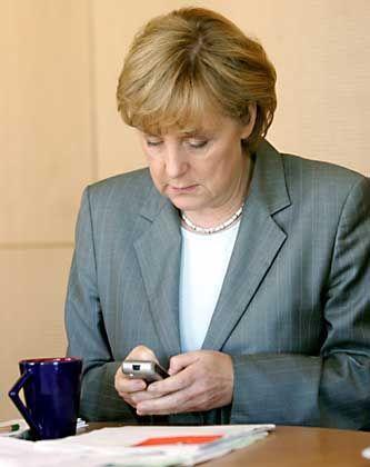 Kanzlerin Merkel: Eine Frau, ein Wort