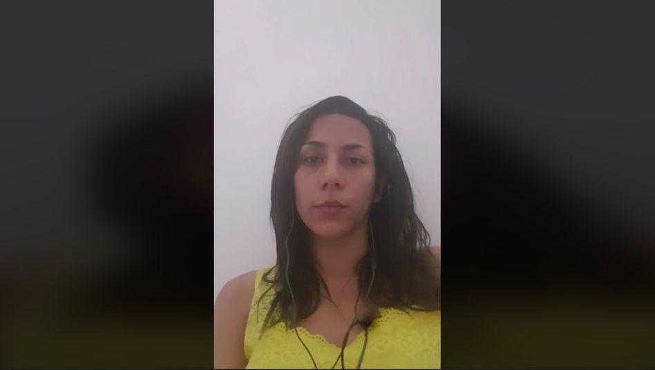 """Bahare Zare Bahari in Facebook-Video: """"Ich brauche einen sicheren Platz"""""""