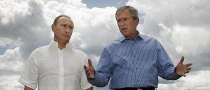"""Putin und Bush: """"Sehr konstruktiver und mutiger Zug"""""""