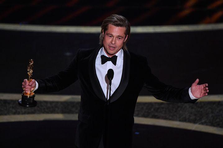 Brad Pitt mit dem ersten Schauspiel-Oscar