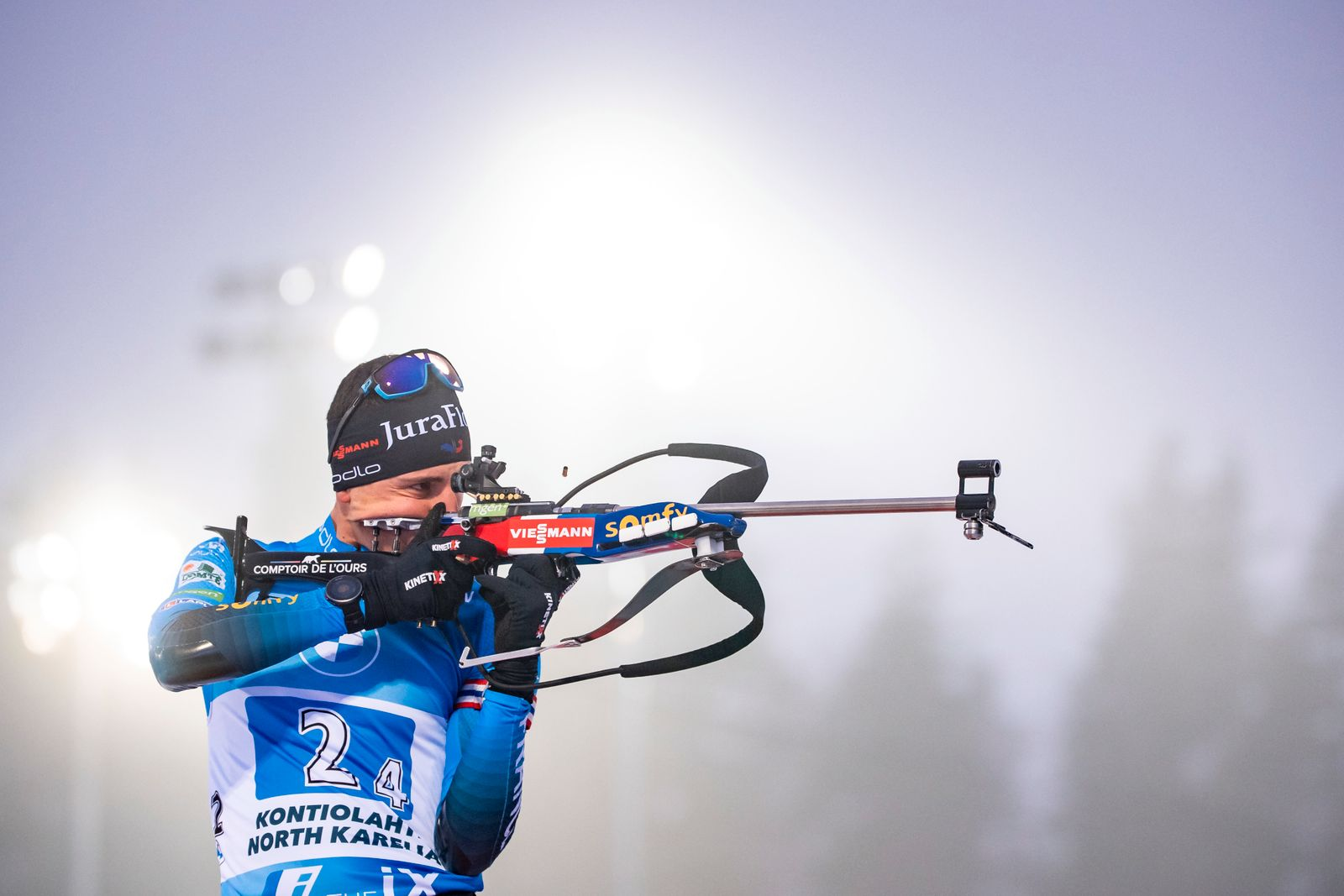 BMW IBU World Cup Biathlon Kontiolahti - Men 4x7.5 km Relay Competition