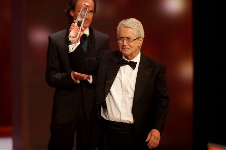 Elstner 2012 beim Deutschen Fernsehpreis