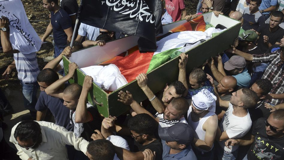 Trauerfeier für 16-jährigen Palästinenser (am Freitag): Eskalation in Nahost