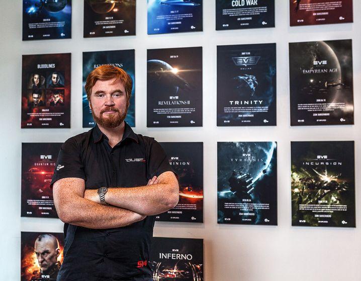 """Hilmar Petursson: Der 40-Jährige ist Gründer von """"Eve Online"""""""
