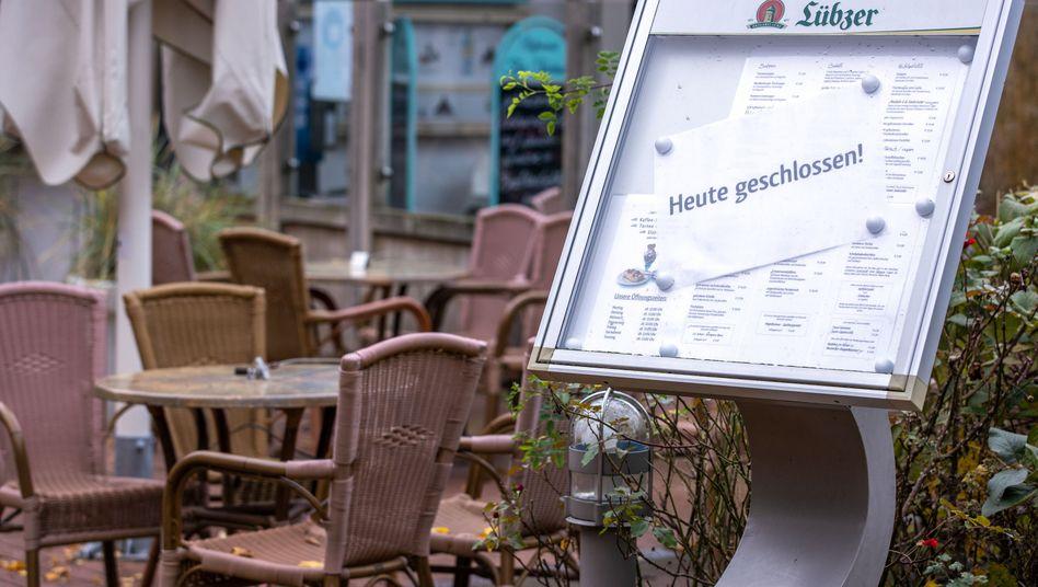 Heute geschlossen: Seit etwa zwei Wochen gilt der Teil-Shutdown in Deutschland