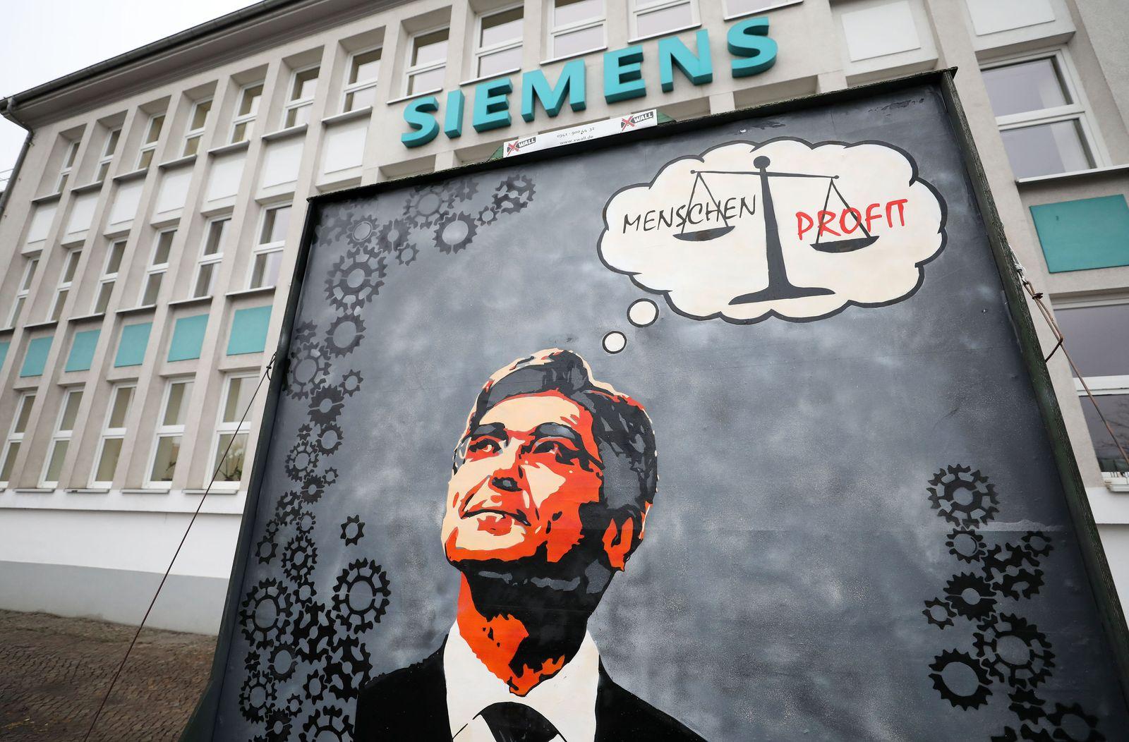 Unklare Zukunft für Leipziger Siemens-Werk