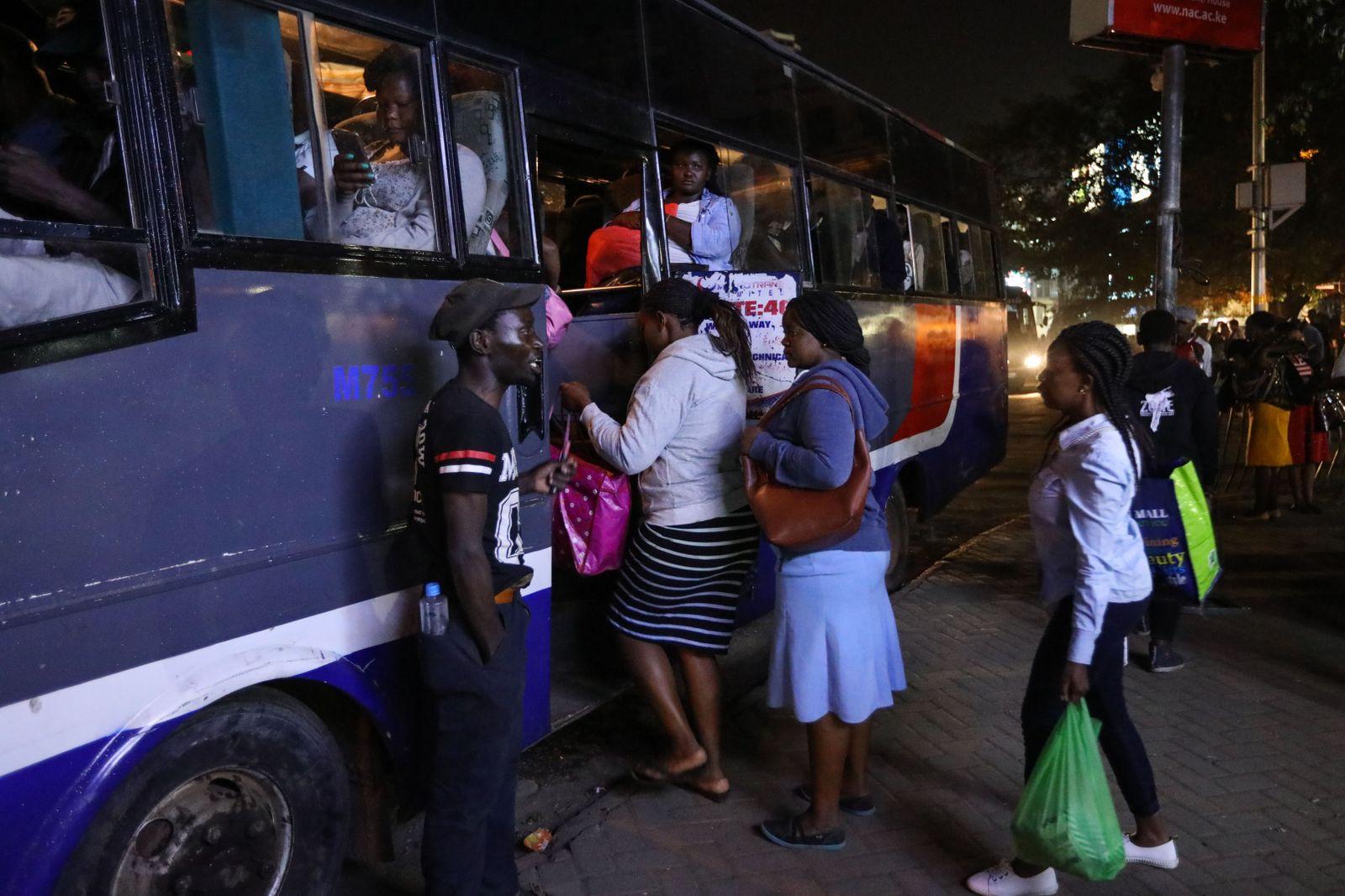 Kenia Bus Nairobi