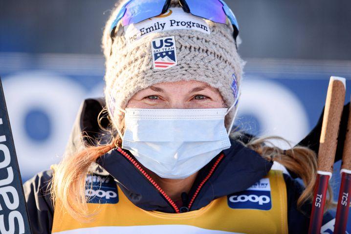Jessica Diggins gilt als große Favoritin auf Gold im Langlauf