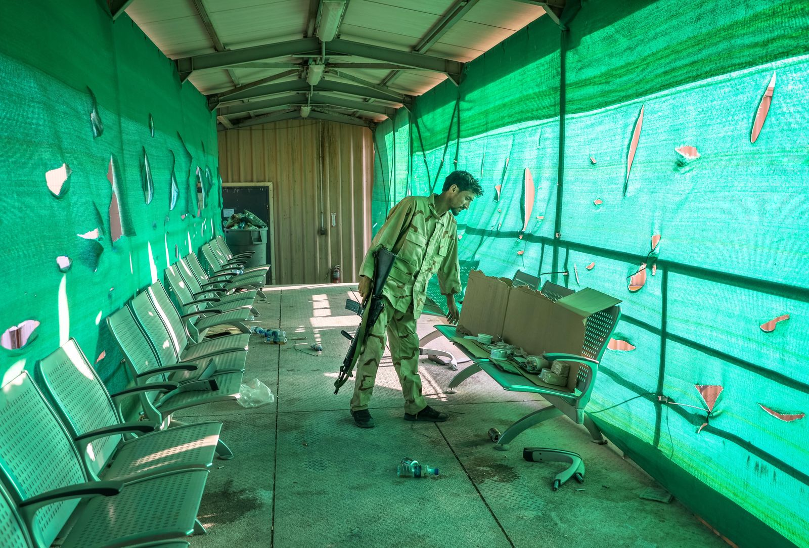 US Forces Departed Bagram Airfield After Nearly 20 Years