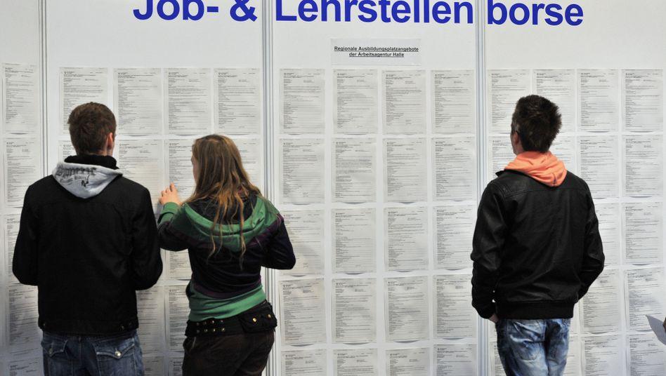 Berufseinsteiger: Niedrige Jugendarbeitslosigkeit in Deutschland