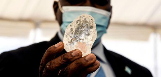 Botswana: Riesendiamant gefunden