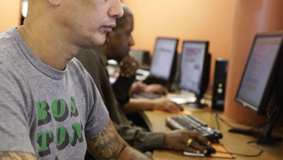 Arbeitslose in Chicago: Löhne sinken, die Verzweiflung wächt