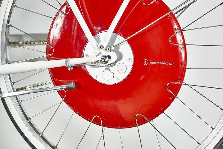 Das Copenhagen Wheel wurde von dem US-Start-Up Superpedestrian entwickelt, einem Team aus Designern und Ingeneuren