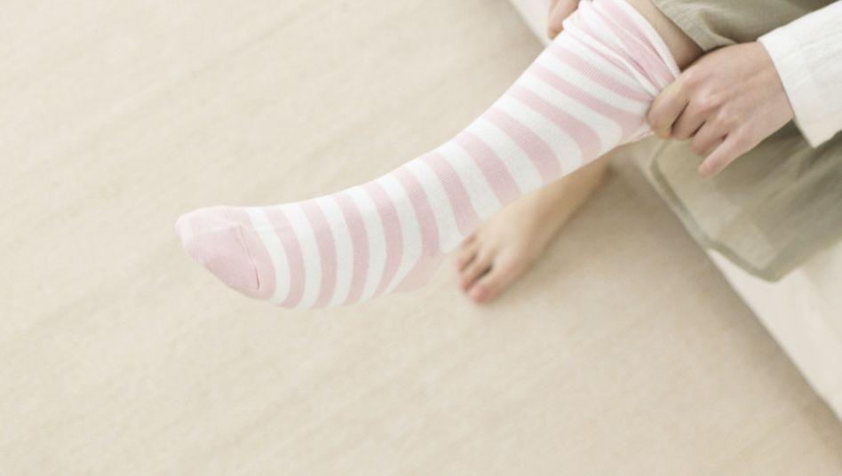 Frost-Zehen: Das Gefühl, dass der Fuß die Socke abkühlt