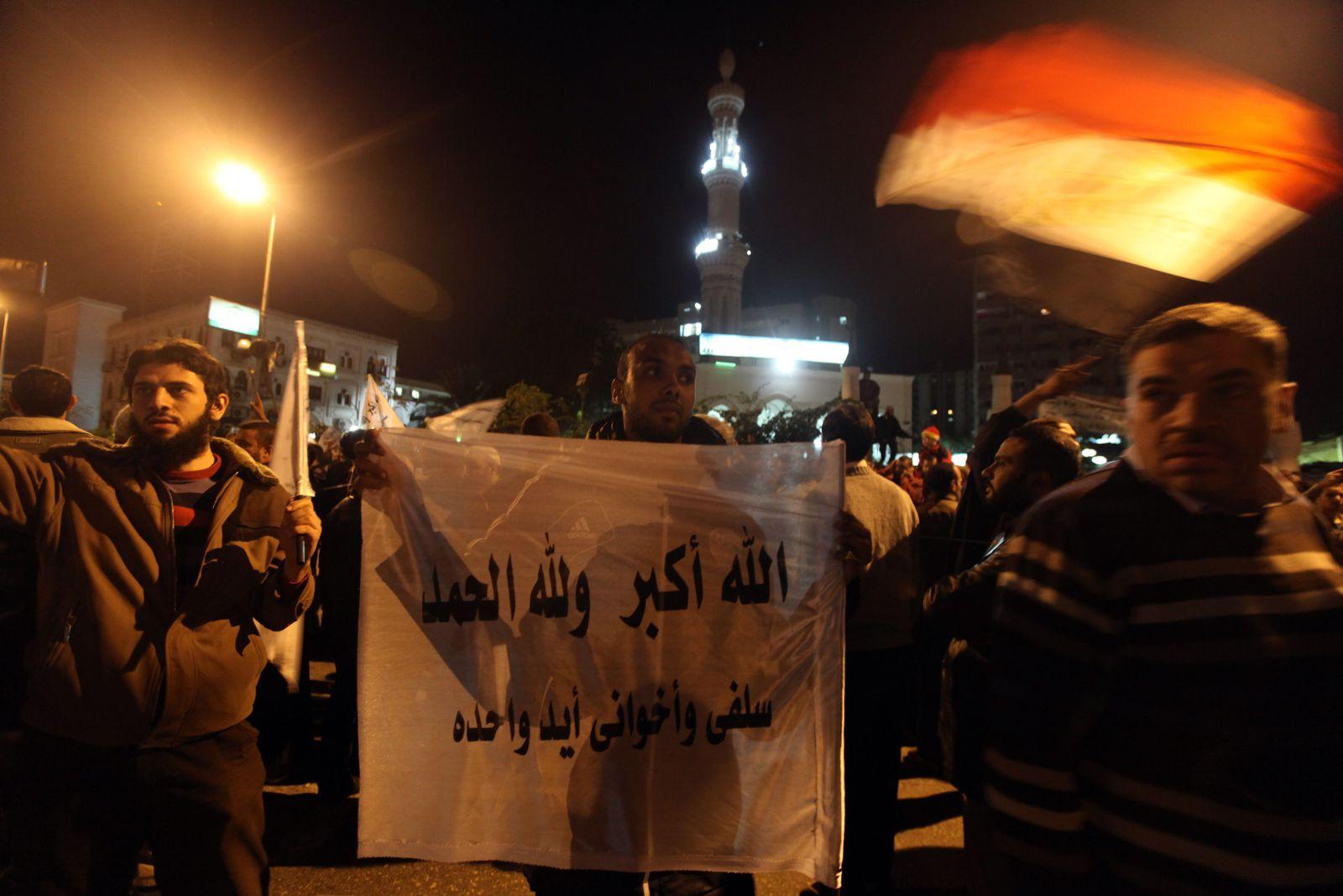 Ägypten Muslimbruderschaft Unterstützer
