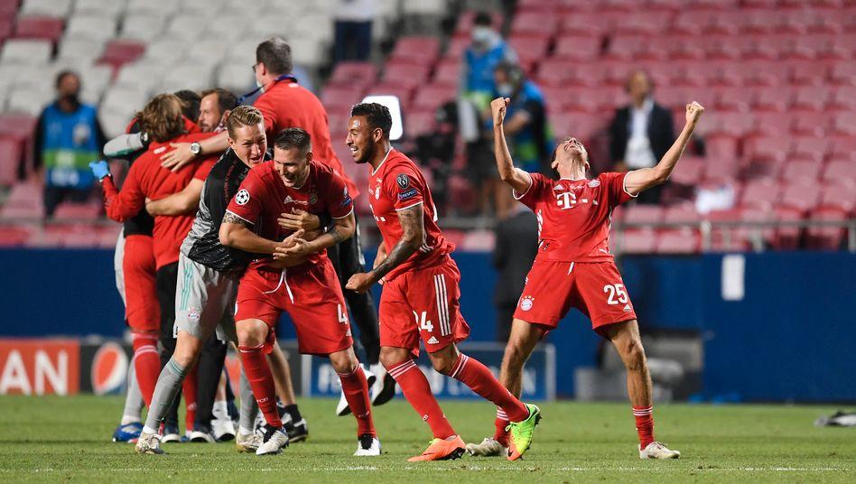 Für die Bayern ist es der erste Champions-League-Sieg seit 2013