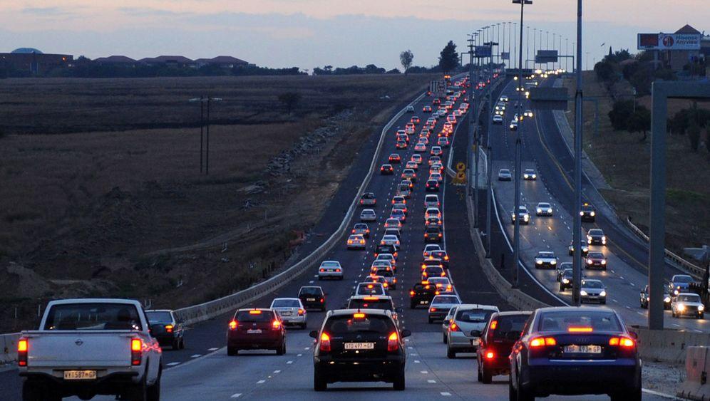 Südafrikas gefährlicher Verkehr: Siegesfeier auf der Autobahn