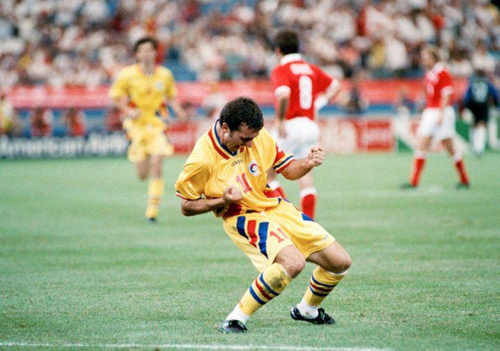 Hagi als Spieler bei der WM 1994