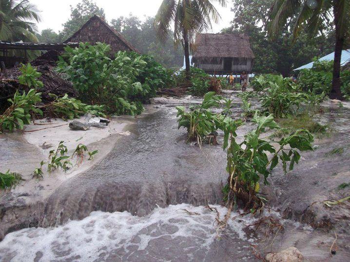 Situation in Kiribati nach Zyklon Pam (Archivbild, März 2015)