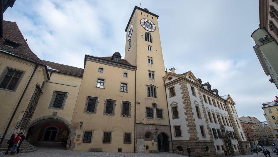 Altes Rathaus in Regensburg