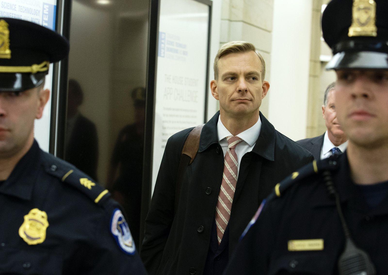David Holmes Botschaft Kiew Impeachment