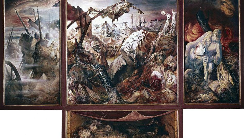 Otto-Dix-Gemälde »Der Krieg«, 1929/32