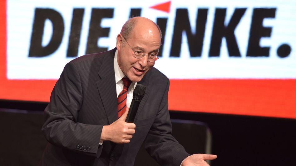 Freuen oder ärgern? Linken-Fraktionsvorsitzender Gregor Gysi