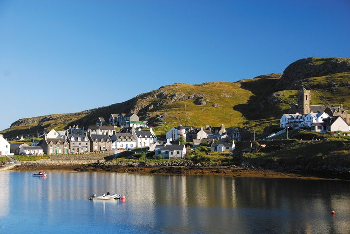 Insel Barra im Süden der Äußeren Hebriden: Gerade ist ein Wanderführer über schottische Inseln erschienen