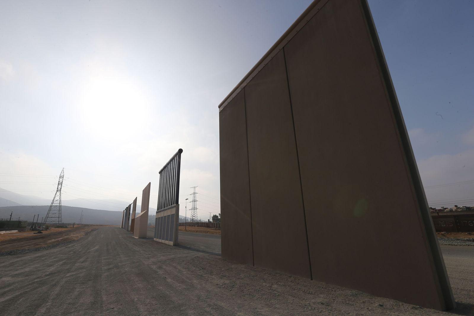 U.S. Border Patrol Monitors California-Mexico Border