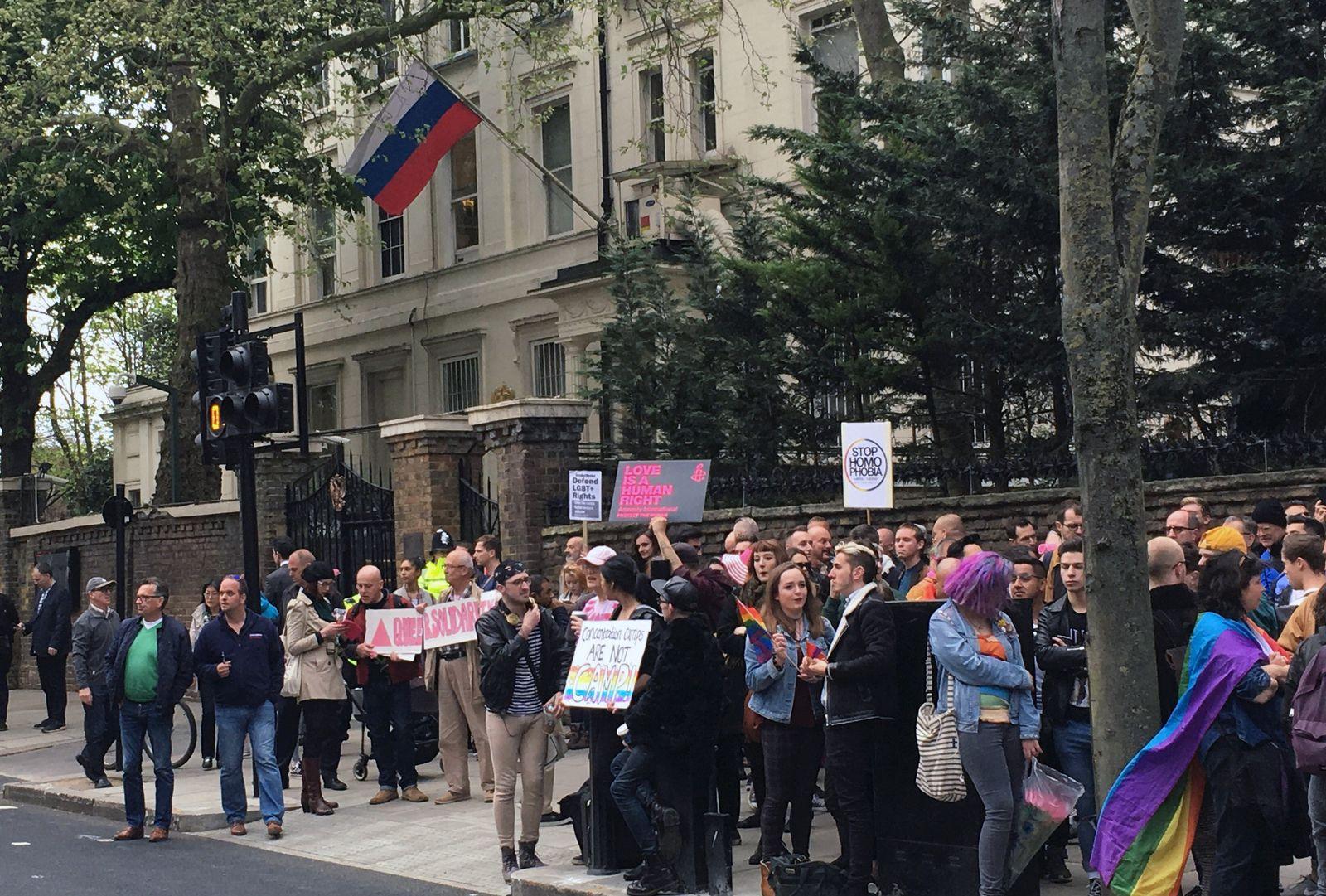 london russland proteste
