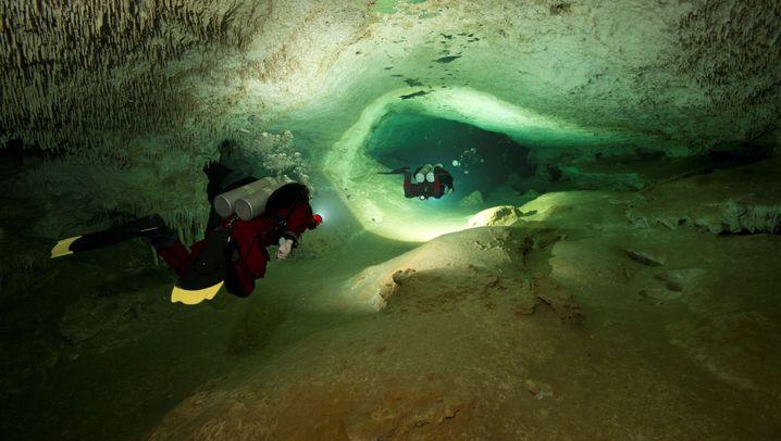 Entdeckung in Mexiko: Die wahrscheinlich längste Unterwasserhöhle der Welt