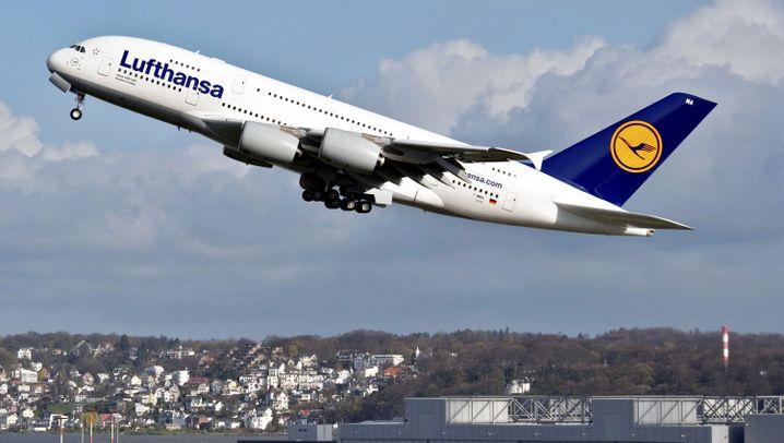 A380-Übergabe: Lufthansa feiert den Giga-Airbus