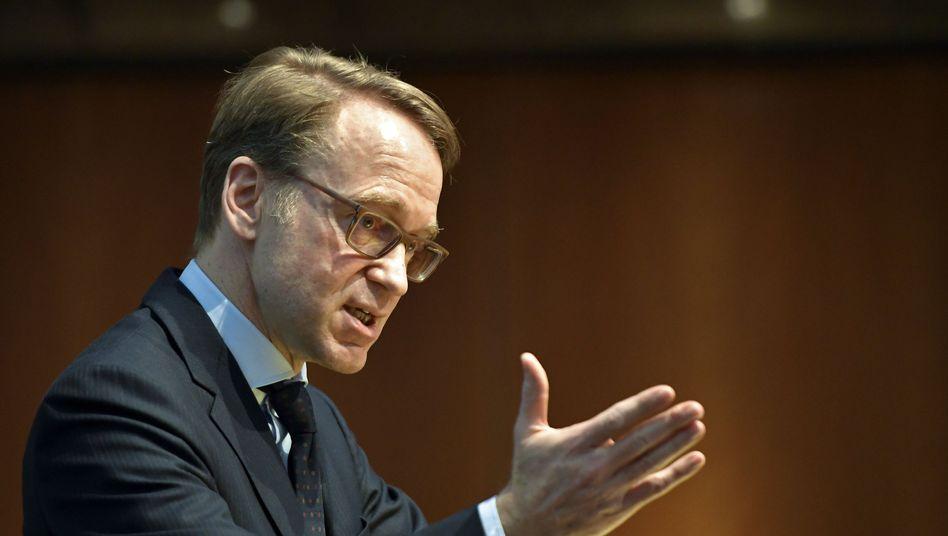 """Deutsche-Bundesbank-Präsident Jens Weidmann: """"Notenbankaufgaben müssen Vorrang haben"""""""