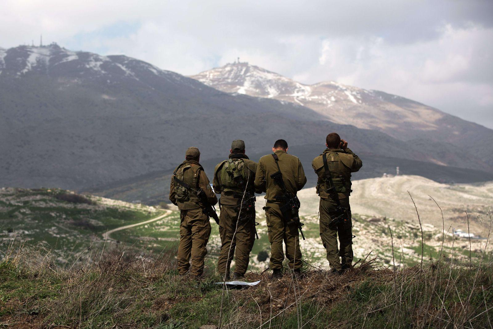 Israel/ Syrien/ Golan