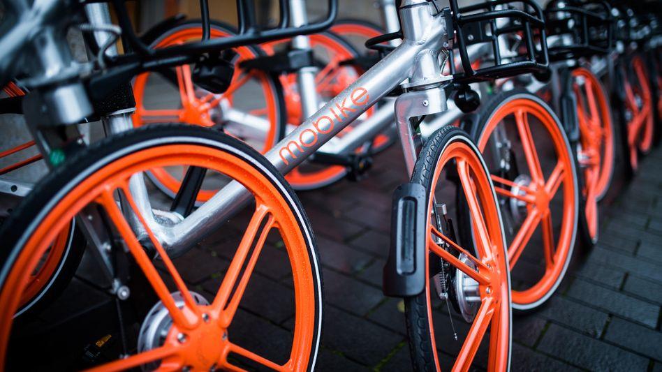 Mobike-Leihräder