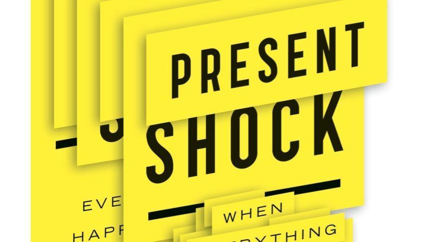 """Present Shock"": Alles ist Liveticker"