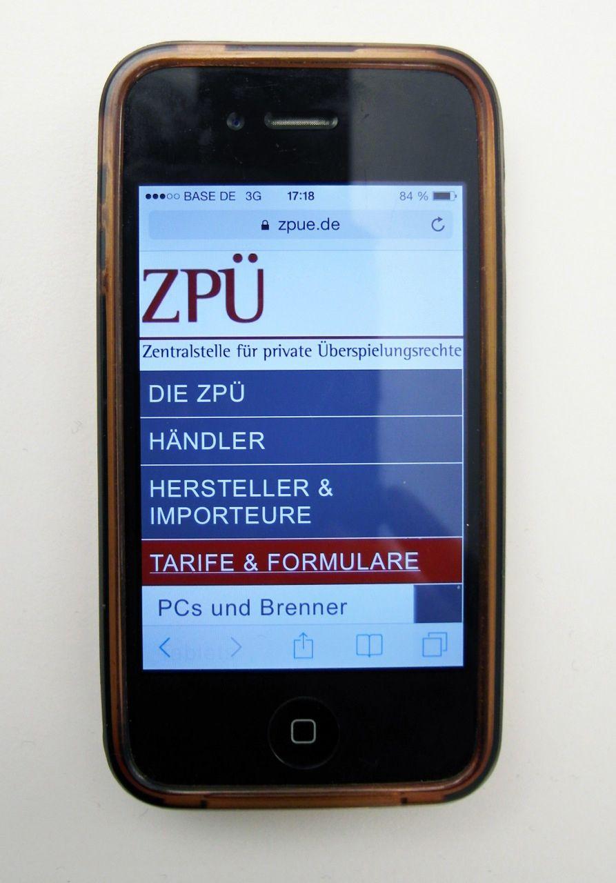Handy/ ZPÜ