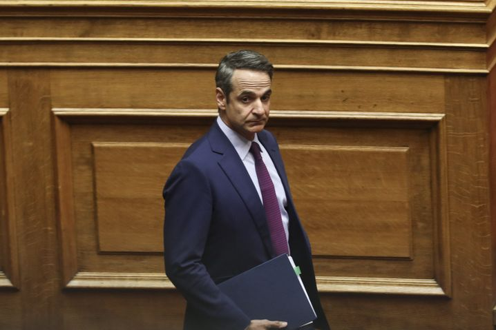 If elected, Kyriakos Mitsotakis says he wants to break with a centuries-old tradition of favoritism in the country.