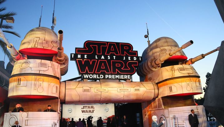 "Gala in Los Angeles: Tausende verfolgten ""Star Wars""-Premiere"