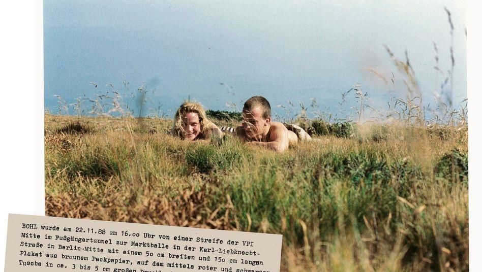 Annette und Jürgen Bruhns in Polen 1989