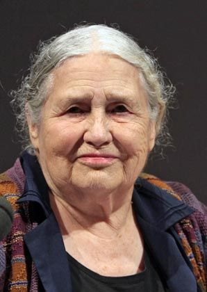 """British author Doris Lessing was in Hamburg, Germany, on Wednesday to present her new book, """"The Cleft."""" The 87-year-old was named Thursday as the recipient of the 2007 Nobel Prize in literature."""