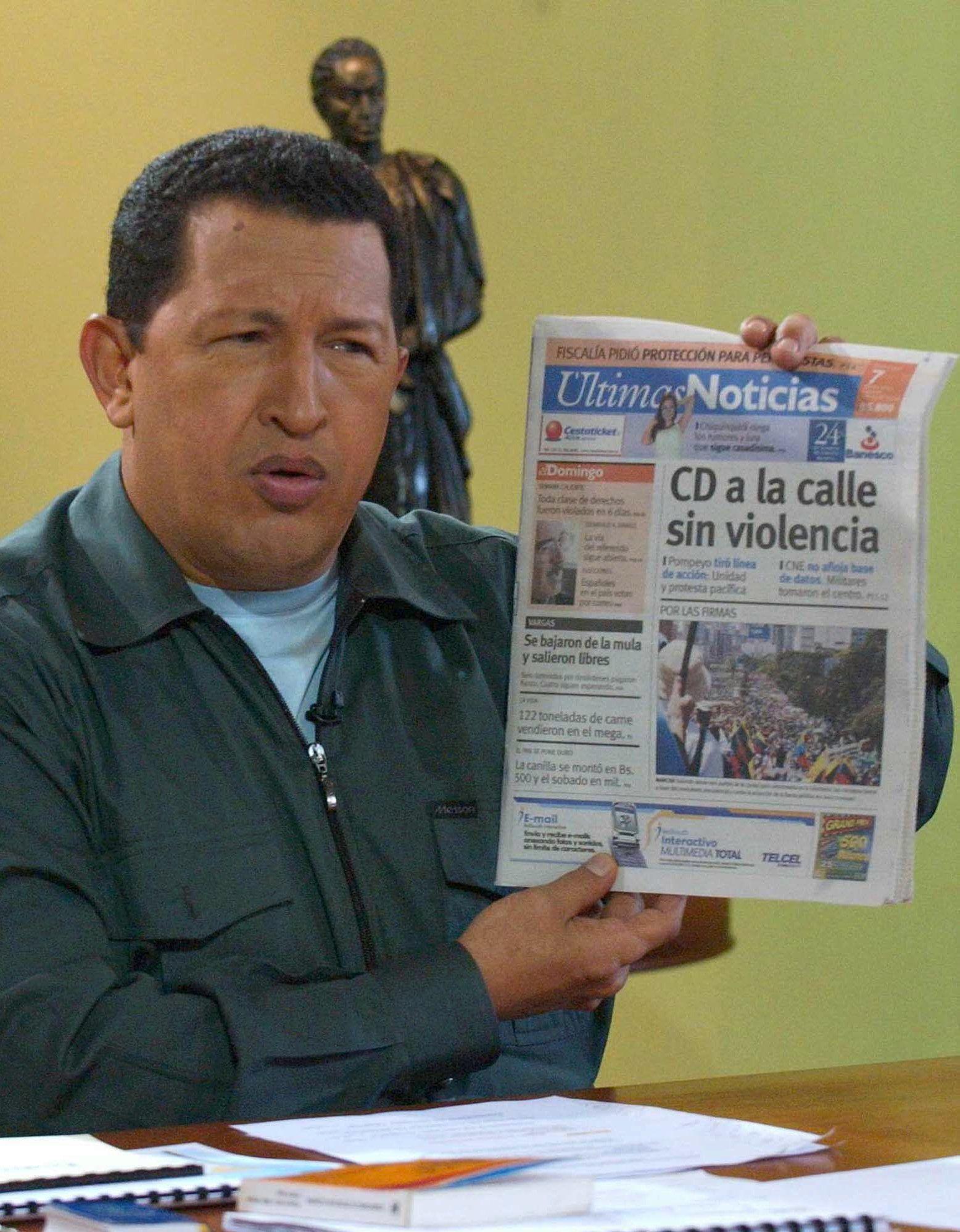 """CHAVEZ TV SHOW """"ALO PRESIDENTE"""""""