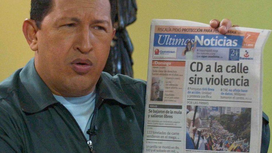 Hugo Chávez: Venezuelas autoritärer Herrscher starb 2013
